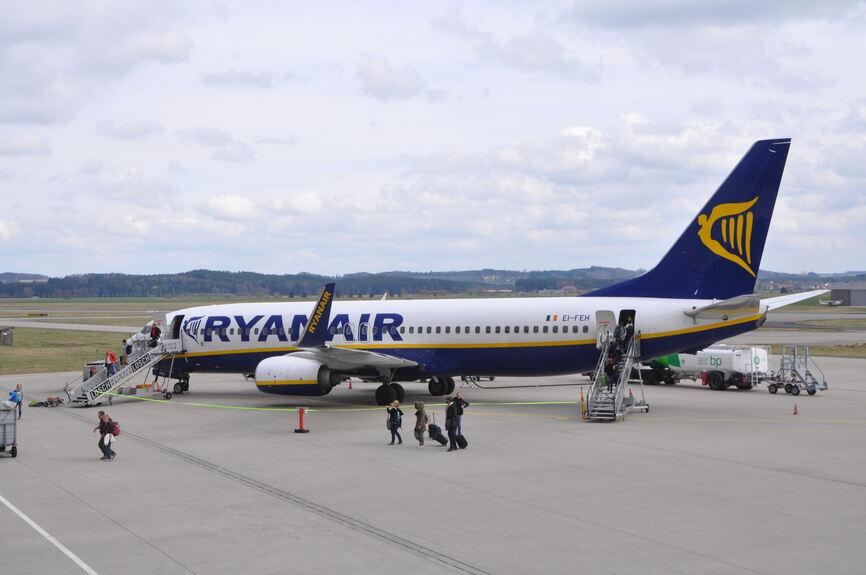 Ryanair streicht geplante Flüge in die Ukraine
