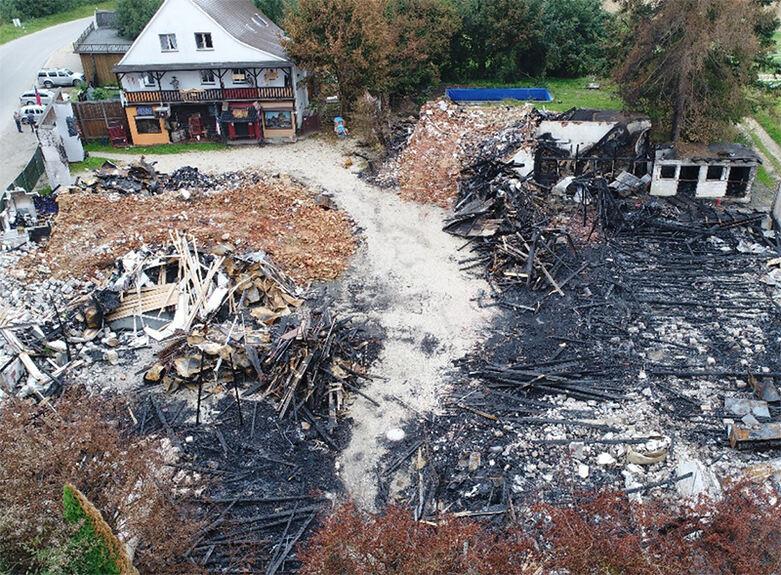 Western City: Kripo geht von Brandstiftung aus - Belohnung ausgesetzt